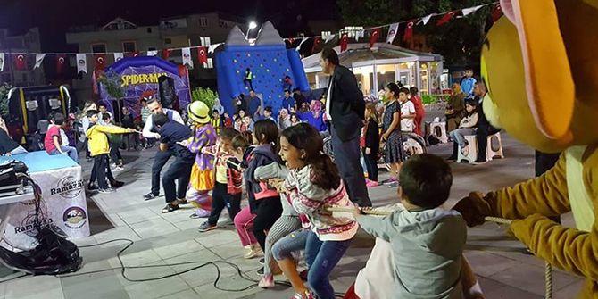Ramazan, çocuklar için Körfez'de çok eğlenceli