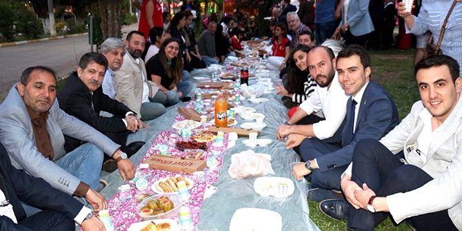 CHP Körfez Hereke'de iftar verdi