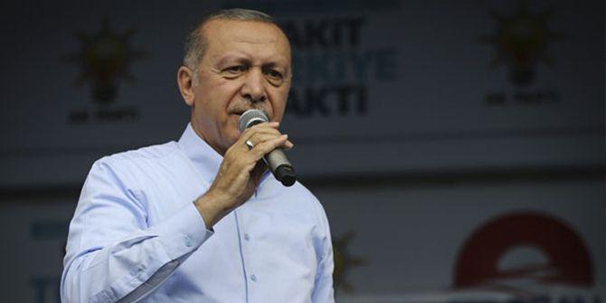 Cumhurbaşkanı Erdoğan duyurdu: Operasyonu başlattık