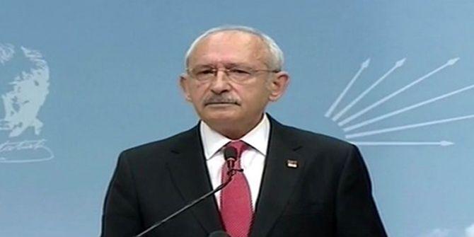 Kılıçdaroğlu'ndan istifa sorusuna yanıt