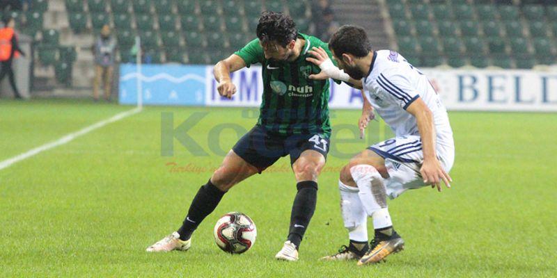 Kocaelispor'un içeride affı yok: 1-0