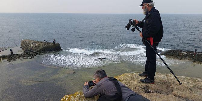 Fotoğrafçılar Kefken ve Kerpe'yi fotoğrafladı