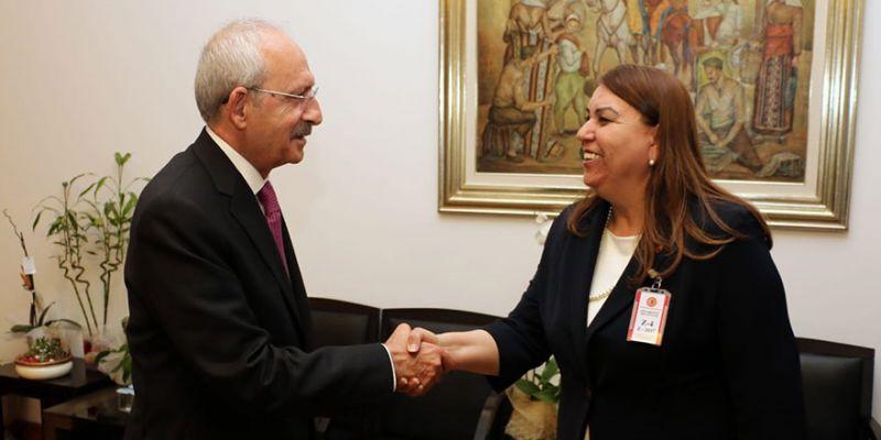 Baykurt, Kılıçdaroğlu ile görüştü