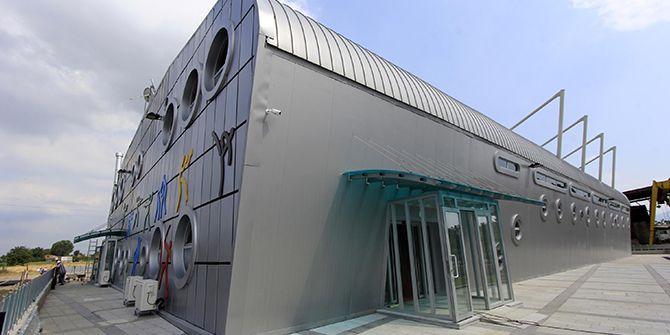 Körfez Orhangazi Anadolu Lisesi'ne spor salonu yapılıyor