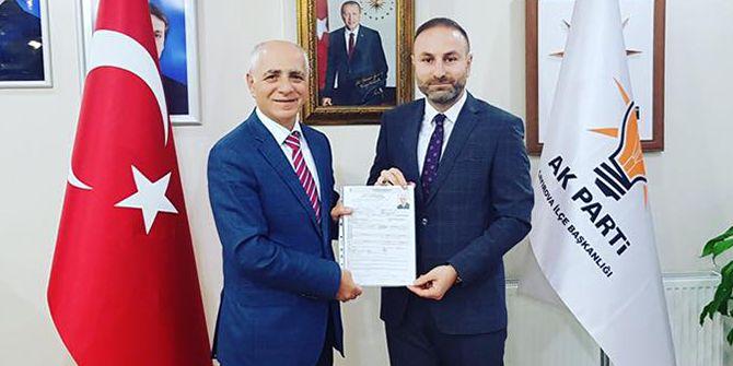 Eski belediye başkanı Akbaş aday oldu