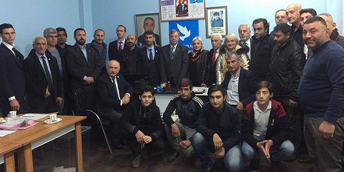 DSP Gölcük'te başkan Garipoğlu