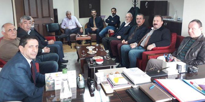 CHP'li Erenkaya, HDP ile görüştü