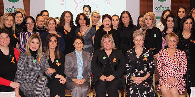 KOİDER'li kadınlara sağlık semineri verildi