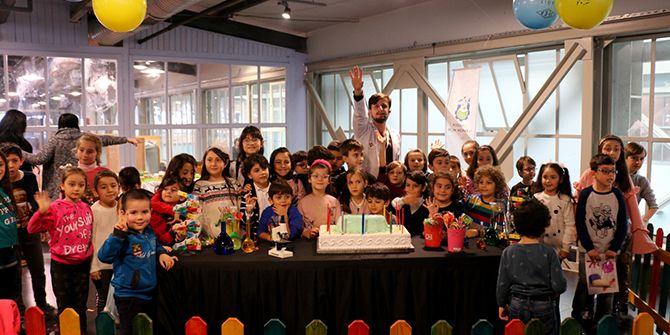 Louis Pasteur ile bilim temalı doğum günü