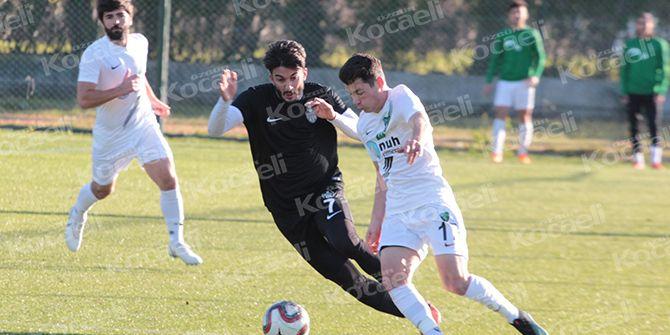 Kocaelispor'dan golsüz prova: 0-0