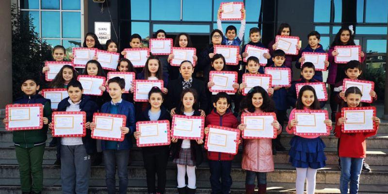Şükrü Aracı İlkokulu'nda takdirlik sınıf