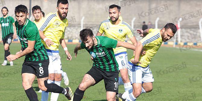 Kocaelispor, Fatsa'da galibiyeti elinden kaçırdı