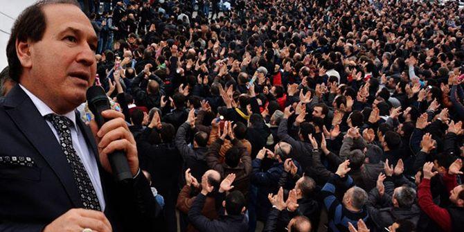 Abdullah Karacan, onursal başkan seçildi