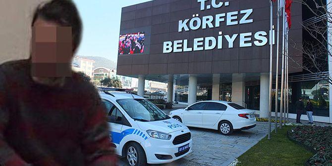 Körfez Belediyesi'nde intihar girişimi!