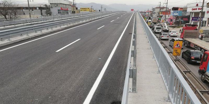 Sanayi Kavşağı Köprüsü trafiğe açılıyor