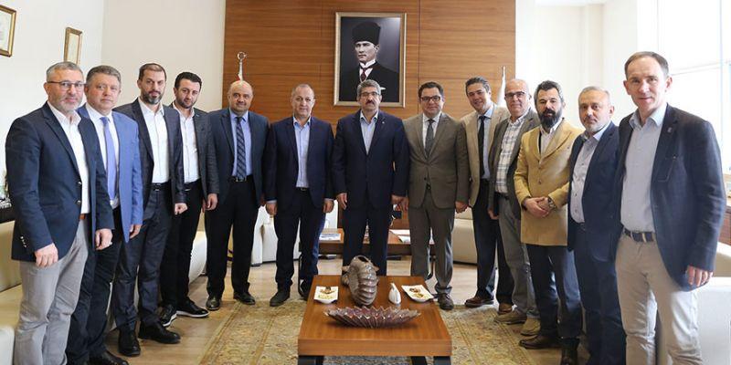 Doğu Marmara Medikalciler Derneği'nden 'teşekkür' ziyareti