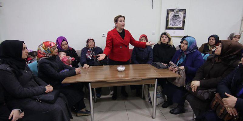 28 Haziran'ın kadınlarından Gönül'e yoğun ilgi