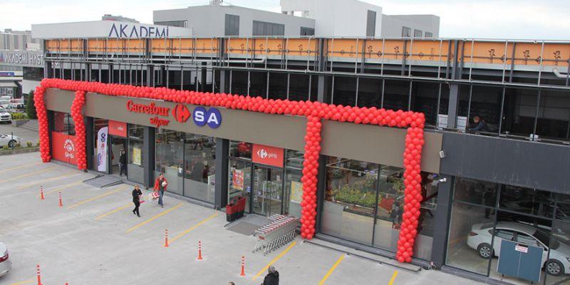 Carrefoursa, Ekcan Park'ta açıldı
