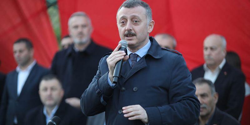 Büyükakın, Yenidoğanlılar'dan destek istedi