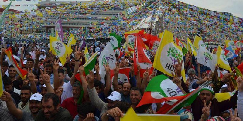HDP mitingi yarın