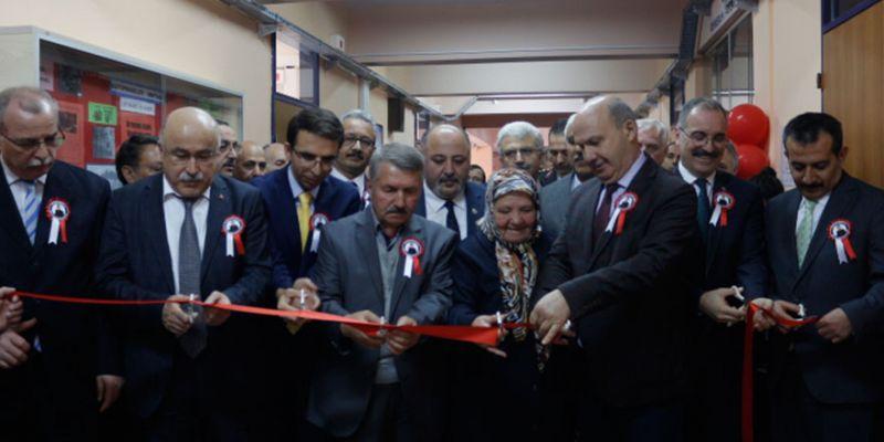 Şehit Ziya Sarpkaya kütüphanesi açıldı