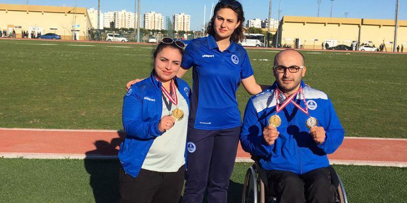 Şahin çiftinin hedefi olimpiyatlar