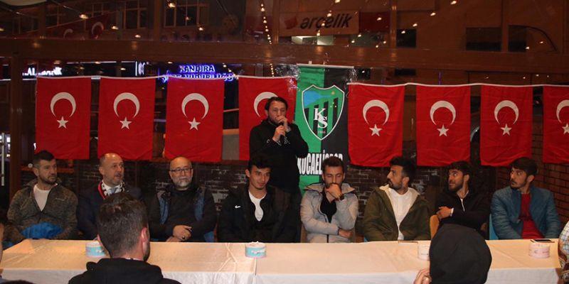 Kandıralı Kocaelisporlular futbolcuları ağırladı