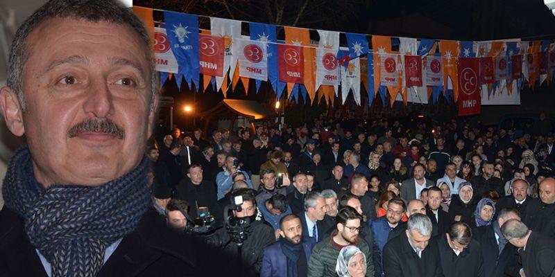 Cumhur İttifakı'ndan Cedit'te coşkulu program