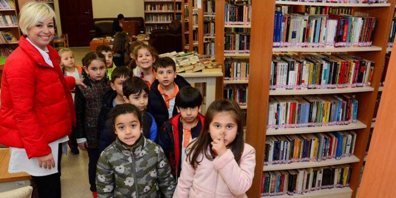 Kütüphane Haftası çocukları mutlu etti