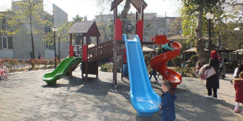 Çocuk parkına salıncak talebi