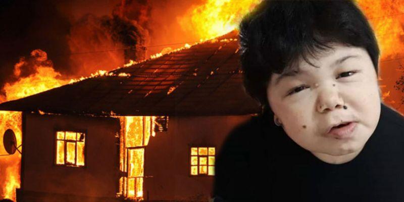Bedensel engelli Neşe evde çıkan yangında can verdi