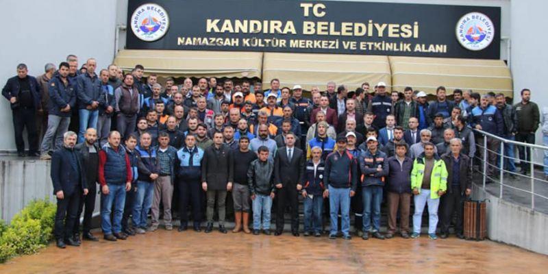 Başkan Turan, personeliyle buluştu