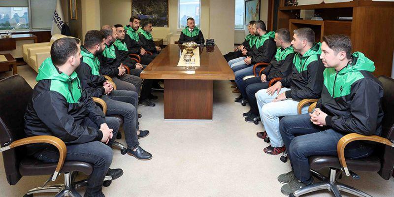 'Kocaelispor kentimizin ayrılmaz parçasıdır'