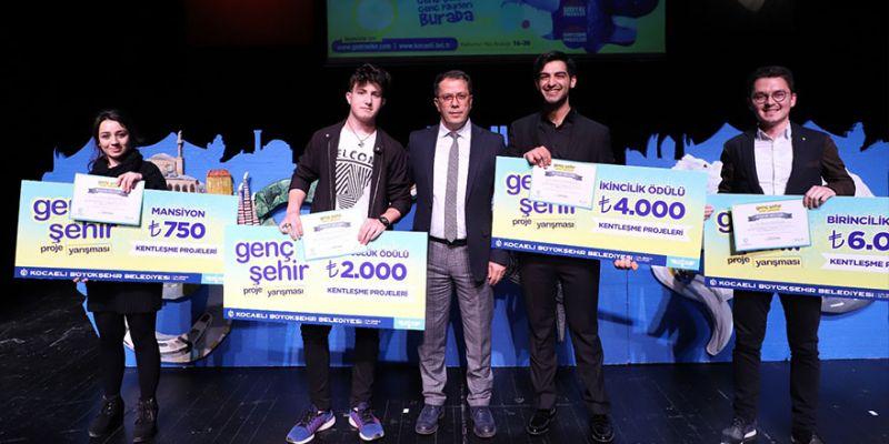 Genç Şehir Projesi'nde ödüller sahiplerini buldu