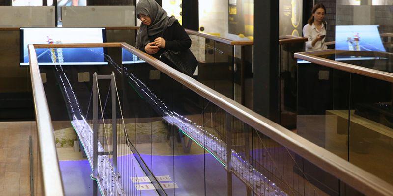 Osmangazi Köprüsü'nün serüveni bu müzede anlatılıyor