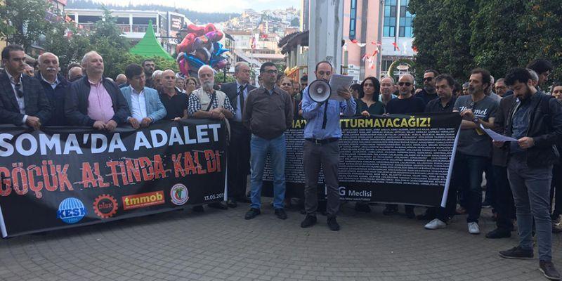 '301 madencinin ardından adalet göçük altında kaldı'