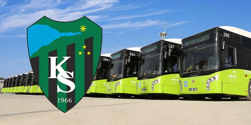 Büyükşehir, Kocaelispor maçı için ek seferler düzenliyor