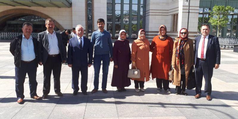 Çiftçiler Erdoğan'ın iftarına katıldı