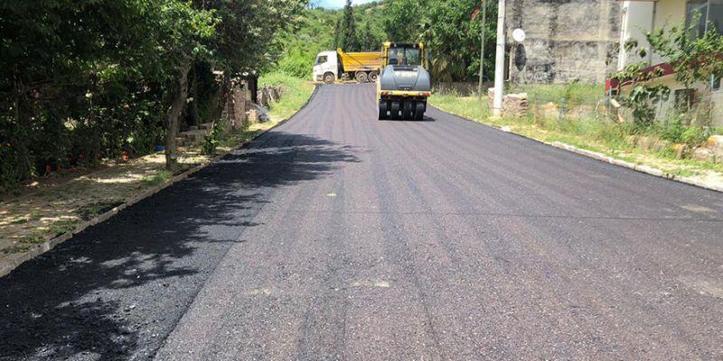 Çamlıtepe'de asfaltsız sokak kalmadı