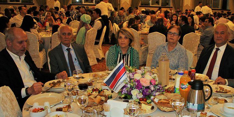 Koruma'dan çalışanlarına iftar