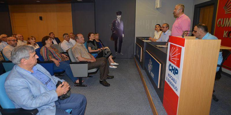 CHP'den ilçe örgütlerine 23 Haziran brifingi
