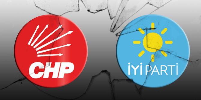 CHP'liler İYİ Partili yöneticilere saldırdı