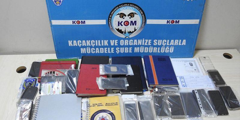 Kocaeli'de dev suç örgütüne operasyon: 33 gözaltı