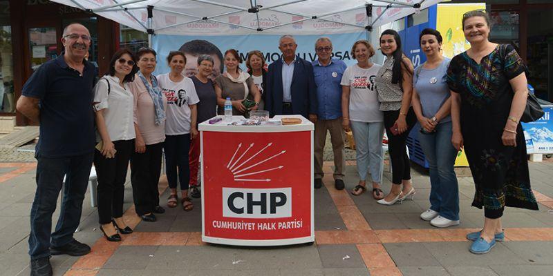 CHP Kocaeli'den Şile çıkarması