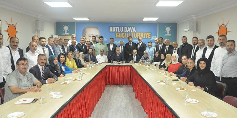AK Parti'de İcra Kurulu açıklanıyor