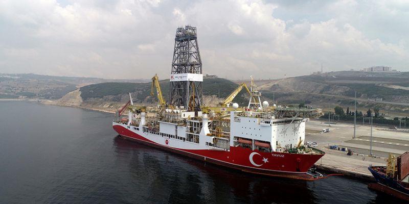 Yavuz sondaj gemisi yola çıktı