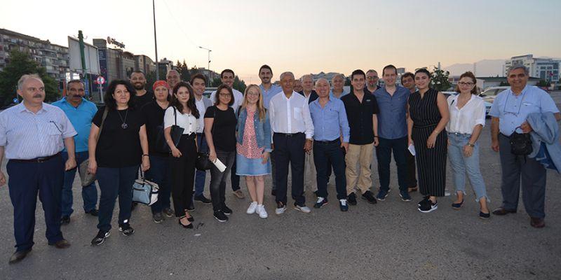 CHP'li avukatlar Şile'ye yola çıktı
