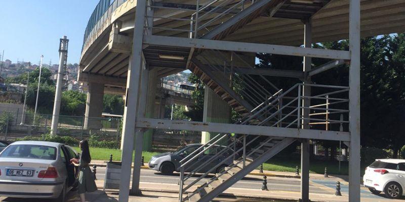 Vatandaşın merdiven talebi