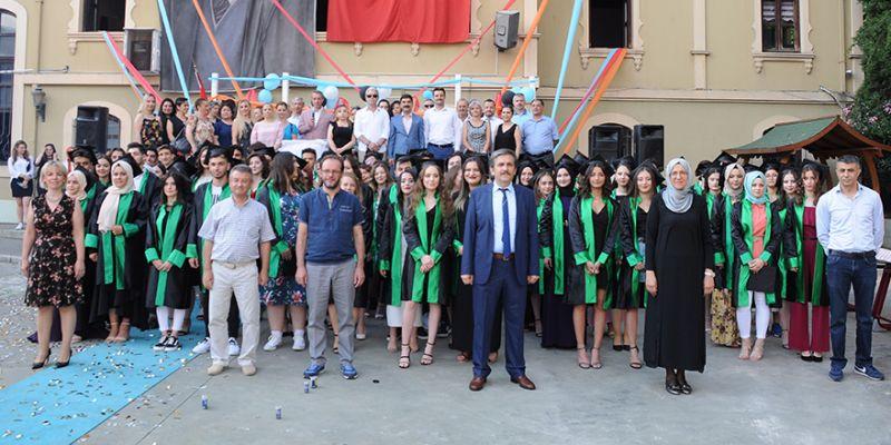 Gazi'nin son mezunları