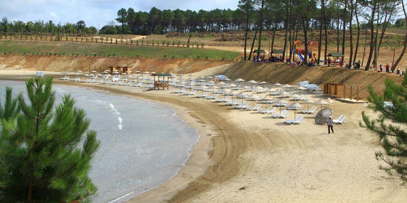 Kocaeli'nin bir plajına daha mavi bayrak